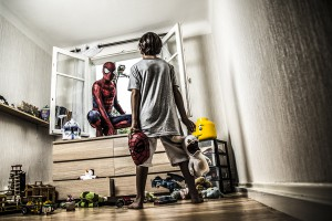 Une araignée dans ma chambre